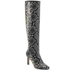 Marc Fisher Zadia Tall Snakeskin Print Boots